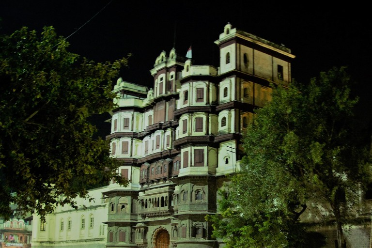 The Rajawada (Old Palace) in Indore, MP