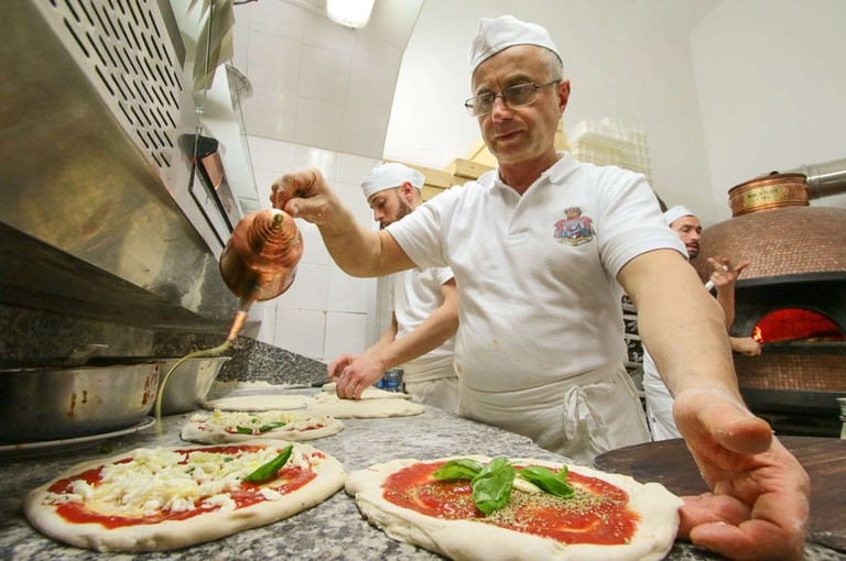 UNESCO have said that the Neapolitan art of pizza making is an intangible cultural heritage. | © Carlo Hermann/Kontrolab/SIPA/REX/Shutterstock