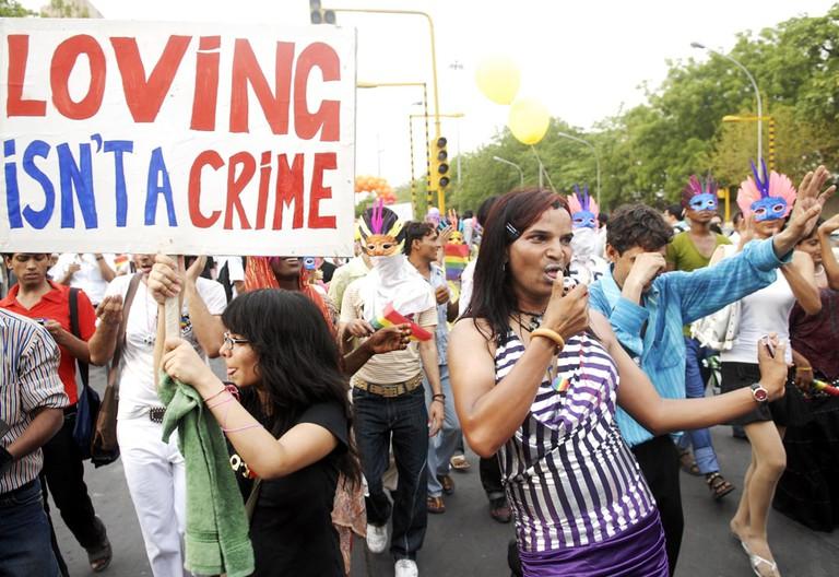 Delhi Queer Pride Parade | © Excel Media / REX/ Shutterstock
