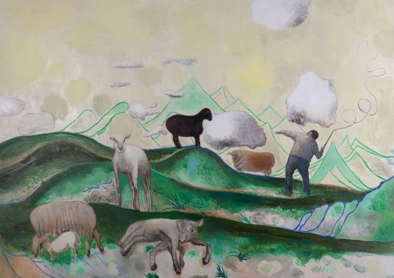 Duan Jianyu,'The Lonely Shepherd', 2012 | ©Duan Jianyu