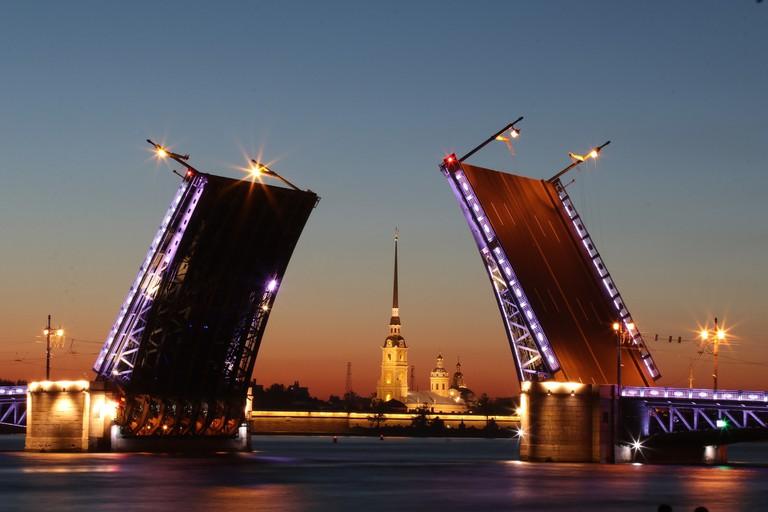 St Petersburg at night I
