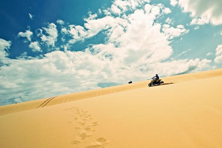 Sand dunes on Stockton Beach   © John O'Nolan/Flickr