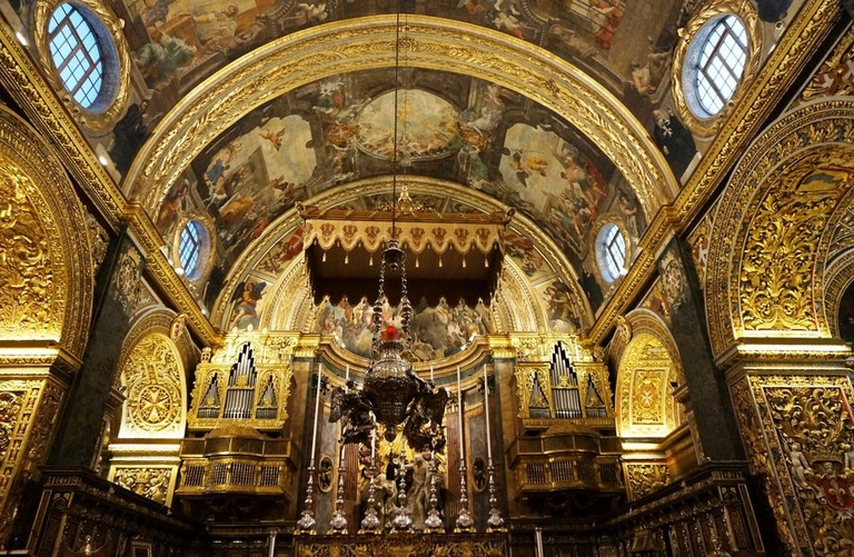 St. John's Co-Cathedral, built by the Knights of Malta   ©EQRoy/Shutterstock