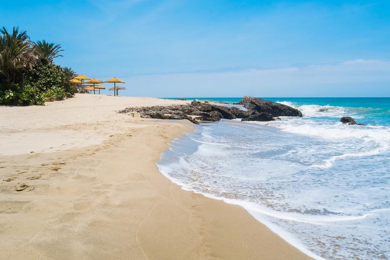 Beach of Punta Sal, Mancora, Peru   © Elisa Locci/Shutterstock