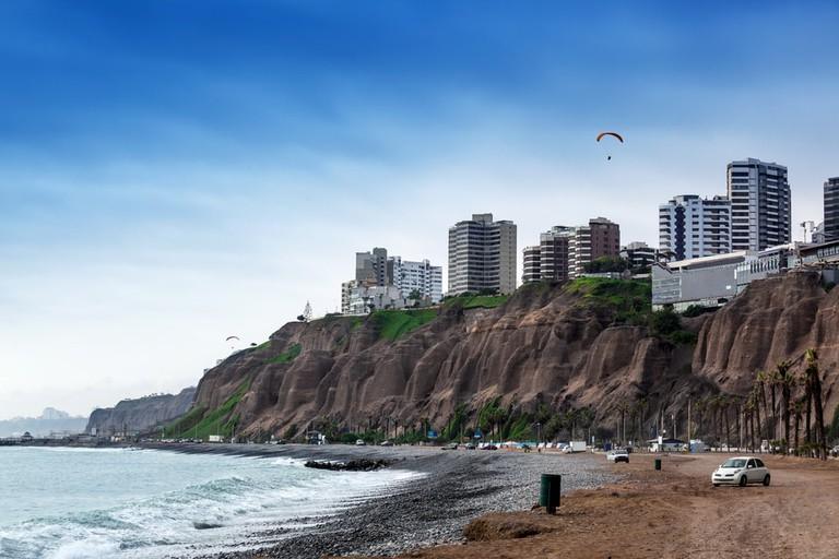 City and the Surf, Peru © terekhov igor/Shutterstock