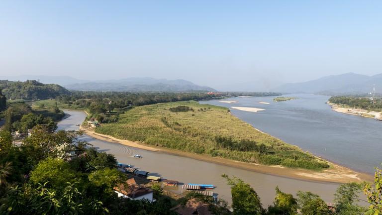 Chiang Saen, Chiang Rai (Thai Myanmar border base) Feb 2016