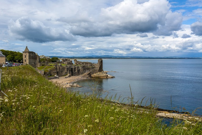 St Andrews castle ruins, Scotland | © Byunau Konstantin/Shutterstock
