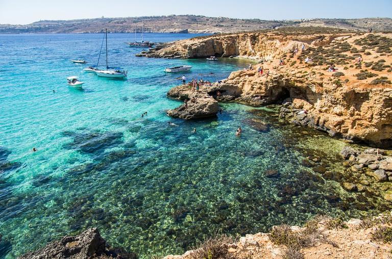 Blue Lagoon, Malta   ©baxys/Shutterstock