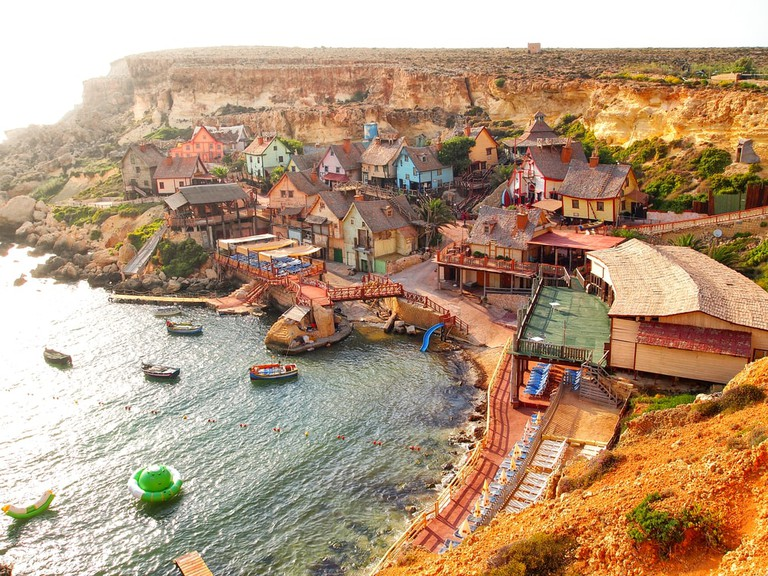 Popeye Village, Malta   © Jon Chica/Shutterstock