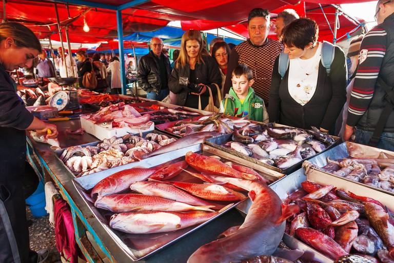 Marsaxlokk fish market, Malta   ©Konstantin Aksenov/Shutterstock