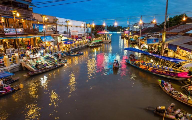 Amphawa, floating Market, Thailand 2016