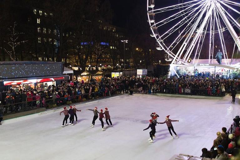 Spikersuppa skating ring   Courtesy of Jul i Vinterland