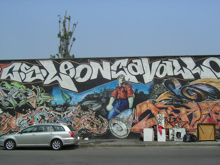 A mural in Leoncavallo, Milan | © F. // Chicca // K. Silva/Flickr
