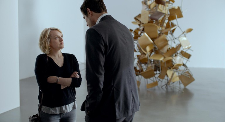 Elisabeth Moss and Claes Bang in 'The Square' | © Sony Pictures Classics