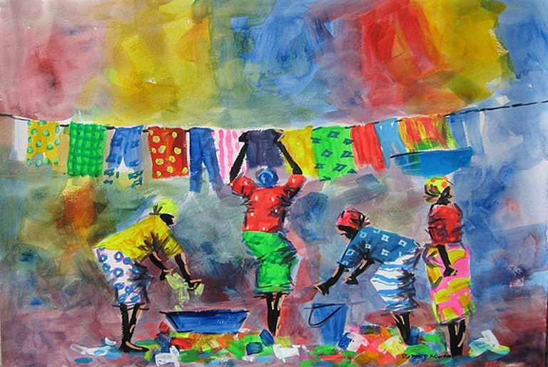 Tingatinga art work