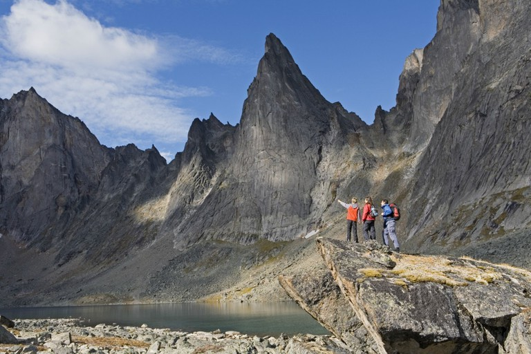 Tombstone Mountains Government of Yukon Fritz Mueller
