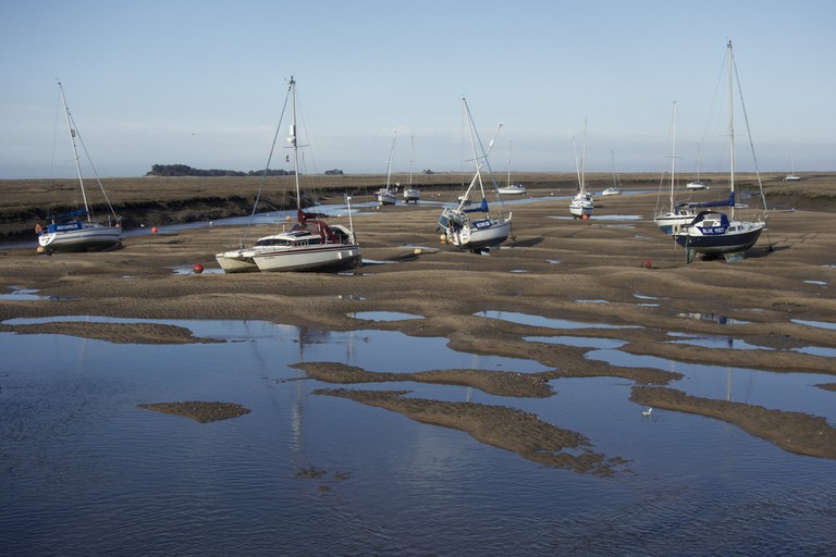 Wells-next-the-Sea Boats | ⓒ Stew Dean/Flickr