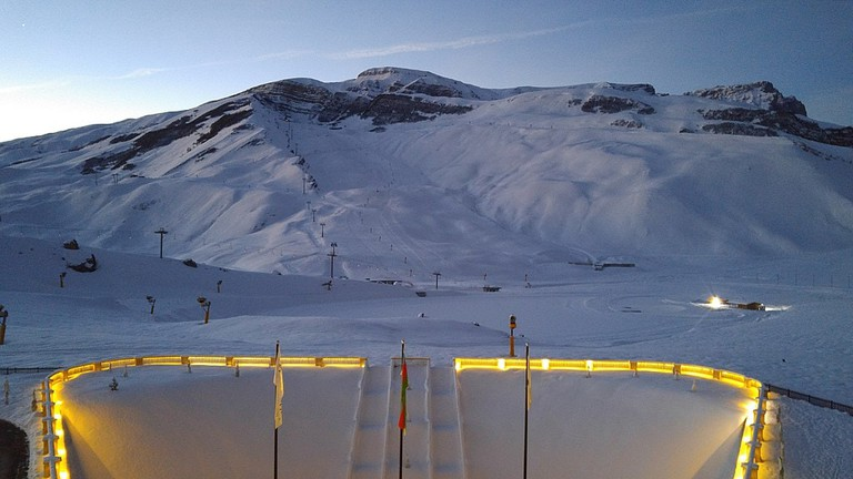 It's hard to believe you'll find ski resorts in Azerbaijan