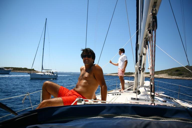 Sailing in Croatia | © Antony Jones/Flickr