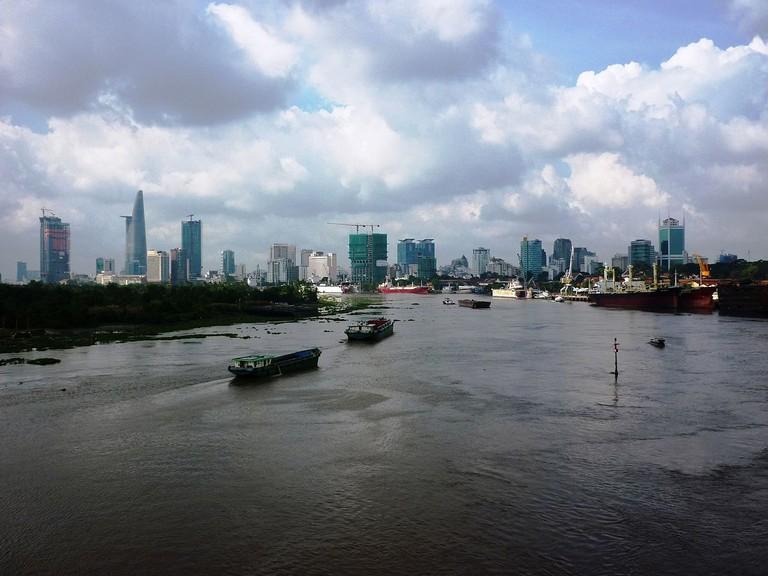 The Saigon River | © Ngô Trung/WikiCommons