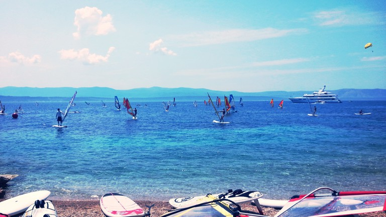 Windsurfing in Croatia | © Rok Hodej/Flickr