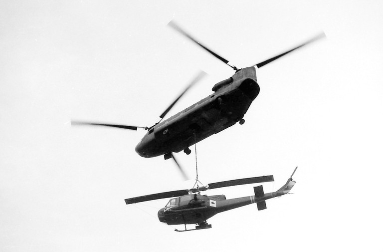 Ace of spades of an American helicopter | © manhhai/Flickr (original by Robin Benton)