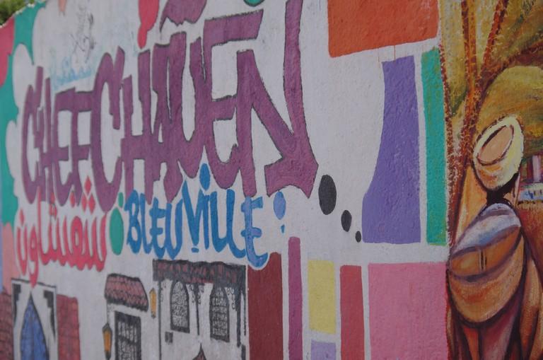 Art in Chefchaouen