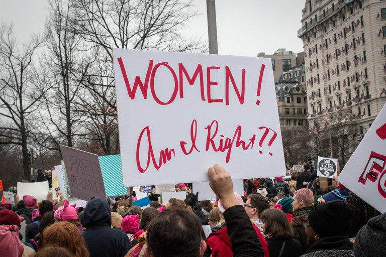 2017 Women's March in DC | © Liz Lemon/Flickr