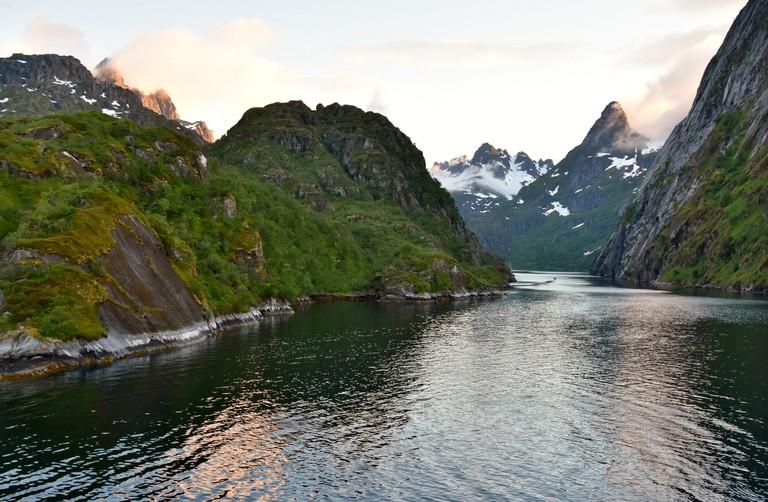 Trollfjord | © Richard Mortel/Flickr