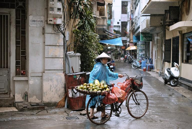 Rain is part of life in Vietnam | © Oscar Saunders/Flickr