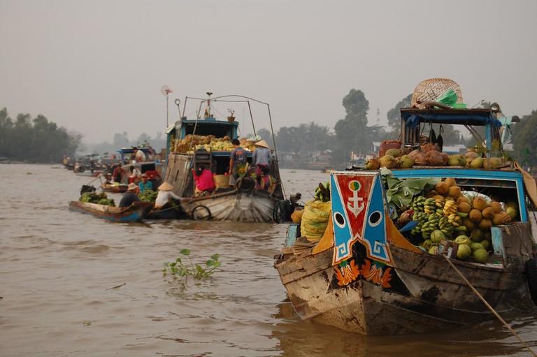 Floating market | © unkle_sam/Flickr