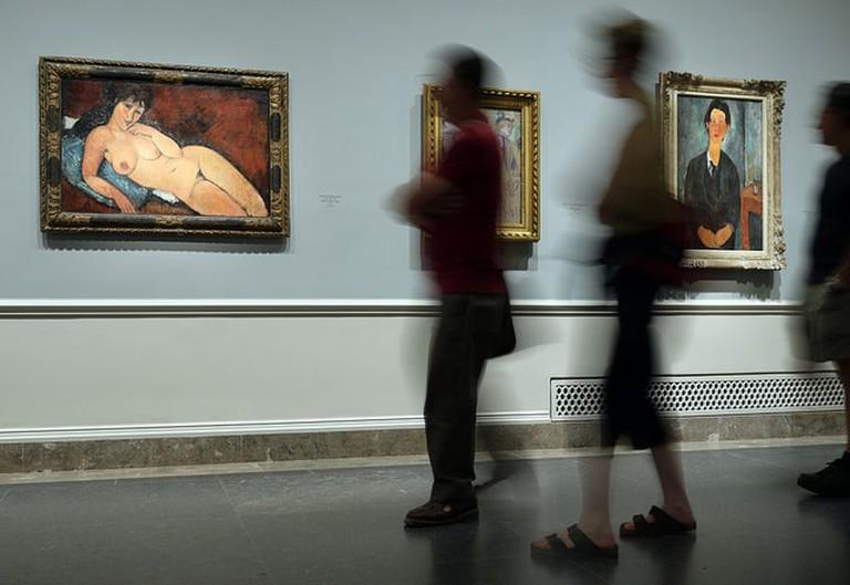 "Modigliani at the National Gallery, London | <a href=""https://www.flickr.com/photos/elisaphi/5915382582/in/photolist-a1HT9S-em5UUK-3Ki38-7whPjx-4LwYV-embFUm-KEegq-hZxjVh-9C1qM9-nTQ8sB-7wmCcj-ai8tu6-G76rA-VQuxFE-UNVZmu-Vv7ukC-2dvY1N-UNVH3s-7fR3zT-RDhF2-RB36y-22ndBhT-rs73ct-sujTR6-EdtbYm-7KCw13-zLyAsW-qpTwPP-6f2d1F-HwM6ig-z7Nhas-ZpKEZs-Dn6FQh-VMNaC5-21pChzw-z5bJqC-zL5akW-DNta3Z-zabSuy-zLXBsV-SwpTcz-W2MnNC-9LFXvE-VQuNDq-W2LNUS-UoqMzT-zXmd39-BkDuP6-hZLuW3-zLKnTV"" target=""_blank"" rel=""noopener"">© Philippe Roos/Flickr</a>"