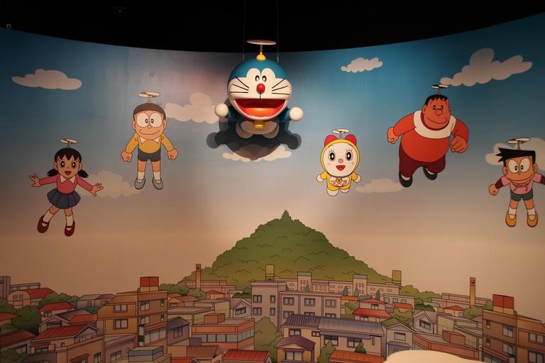 Doraemon and the team | © MIKI Yoshihito/Flickr