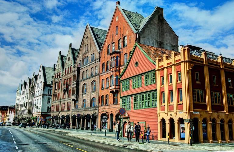 Bryggen in Bergen | © AnneCN/Flickr