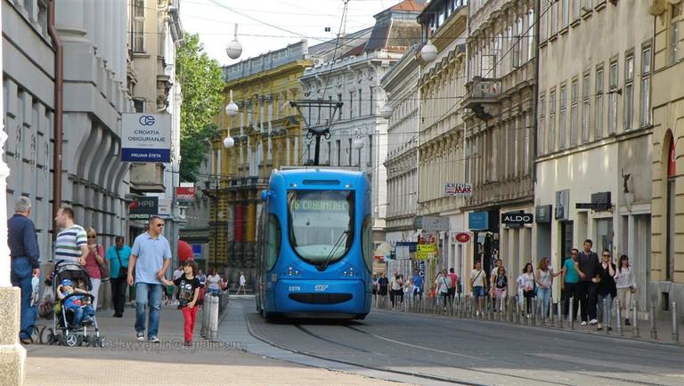 Zagreb tram   © Miroslav Vajdic/Flickr
