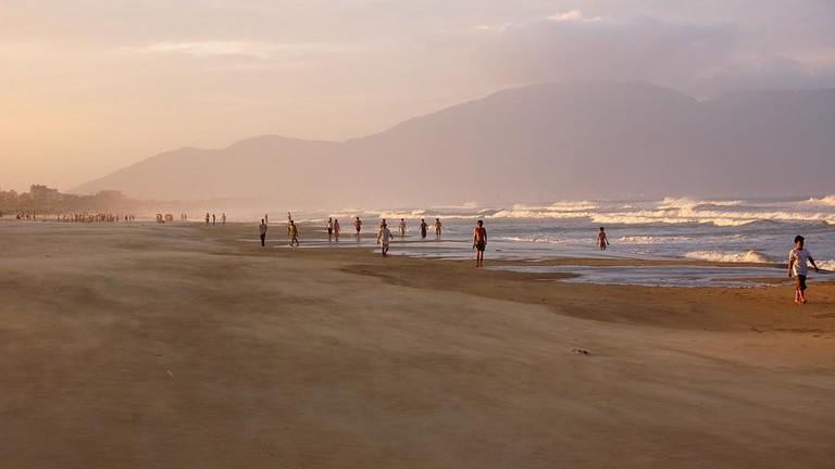 A beach in Danang