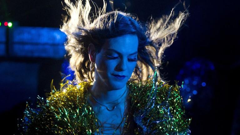 Marina (Daniela Vega) transfigured in<em>A Fantastic Woman</em>| © Sony Pictures Classics