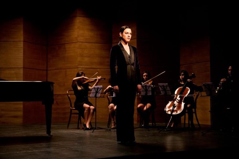 Marina (Daniela Vega) sings opera in <em>A Fantastic Woman</em>| © Sony Pictures Classics