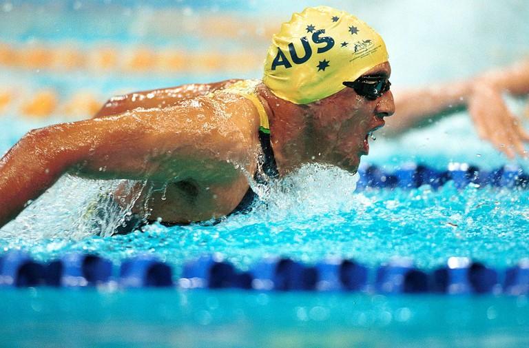 Australian swimmer Daniel Bell   © Australian Sports Commission/Wikimedia Commons