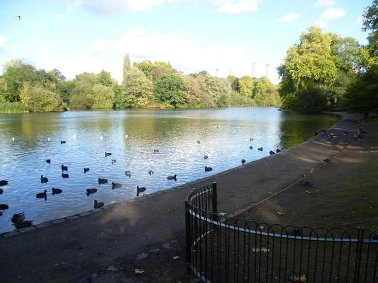 Battersea Park Boating Lake