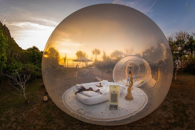 bubble hotel bali