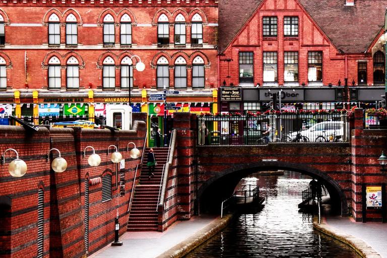 Canals around Gas St Basin & The Mailbox | © muffinn Flickr