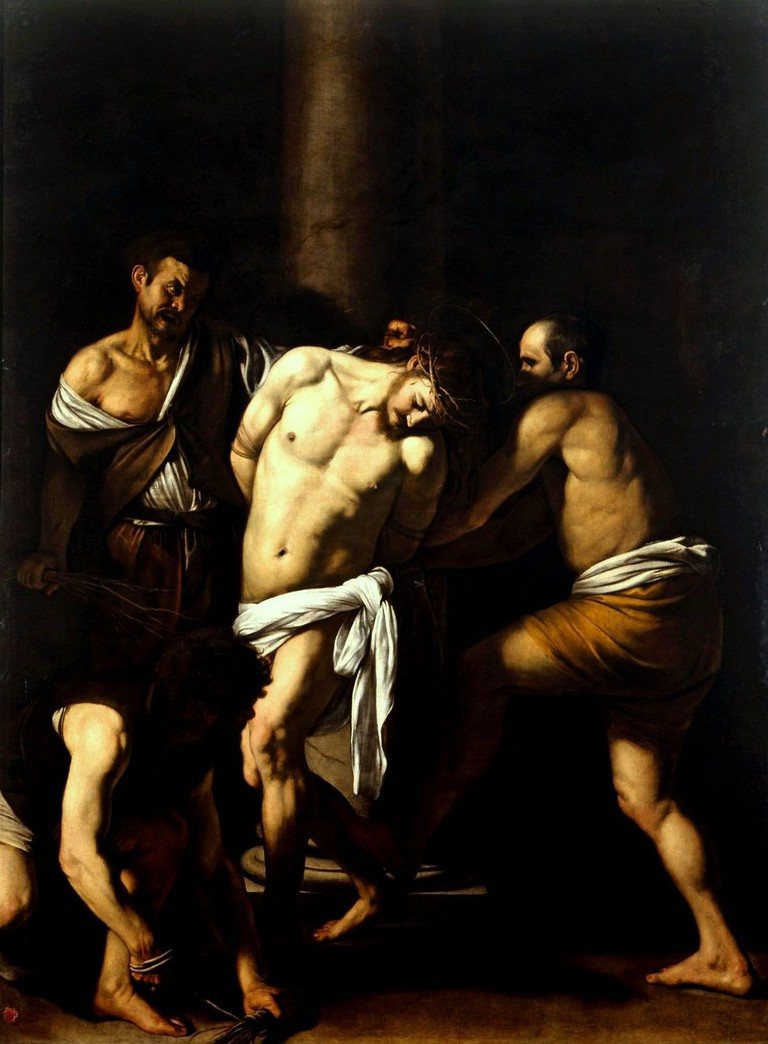 Caravaggio's The Flagellation of Christ is in the Museo di Capodimonte | © WikiCommons