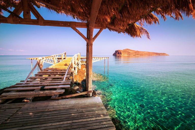 The Jetty at Agios Marina