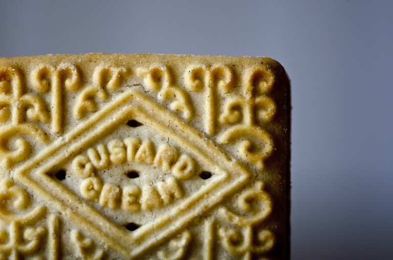 Custard Cream biscuit | © Jon Bunting Flickr