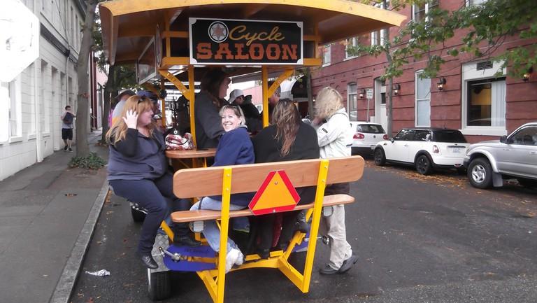Cycle Saloon | © brewbooks / Flickr