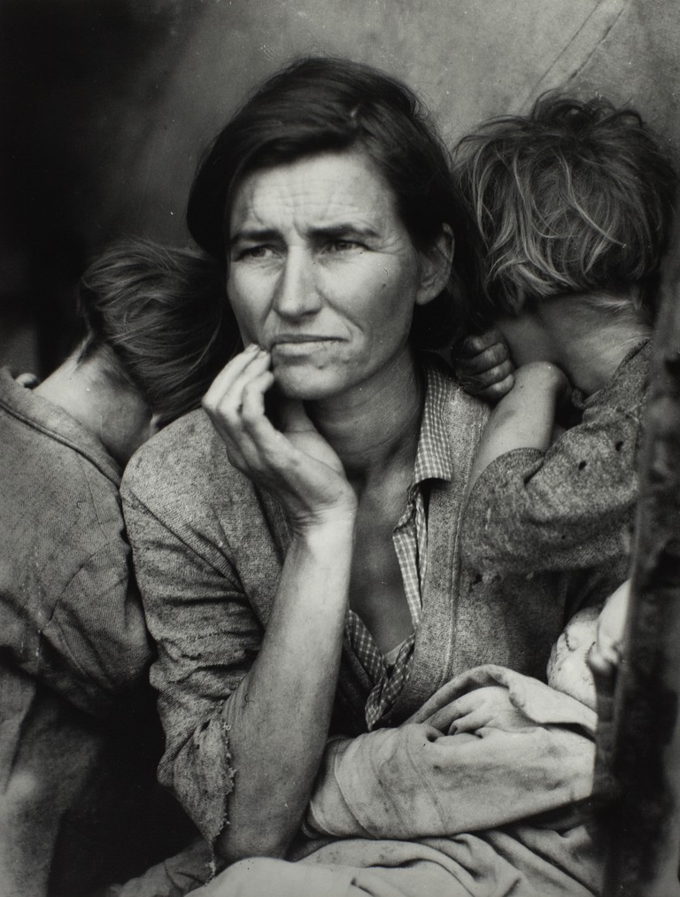 Dorothea Lange, 'Migrant Mother', Nipomo, California, 1936 | © The Dorothea Lange Collection, the Oakland Museum of California