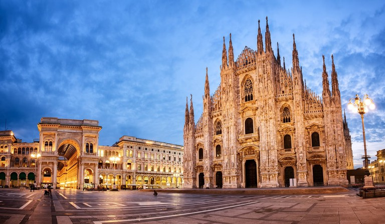 Il Duomo in the centre of Milan | © Boris Stroujko/Shutterstock