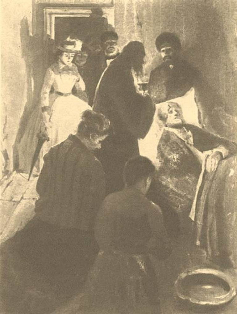 Grabar_Crime_and_Punishment_Sonya_visiting_Marmeladov_1894