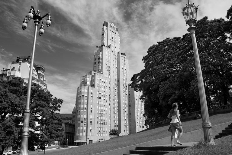 Plaza San Martin and the Kavanagh Building